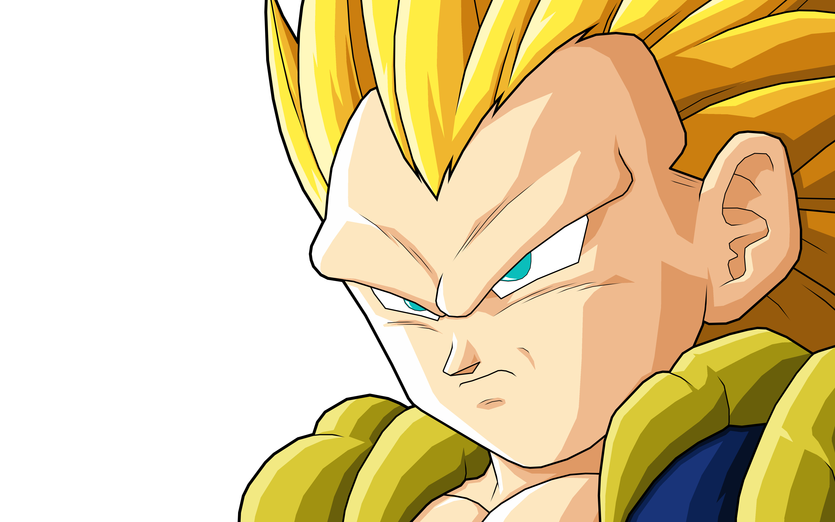 Gotenks SSJ3 HD Wallpa...