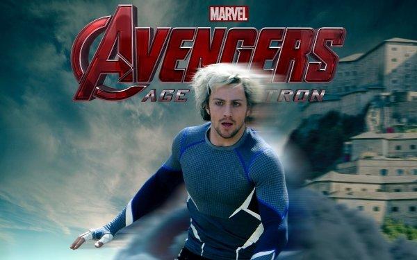 Film Avengers : L'ère d'Ultron Avengers Aaron Taylor-Johnson Quicksilver Fond d'écran HD | Arrière-Plan