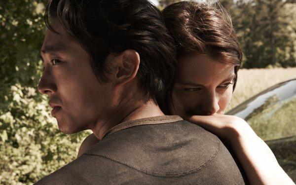 TV Show The Walking Dead Steven Yeun Glenn Rhee Lauren Cohan Maggie Greene HD Wallpaper | Background Image