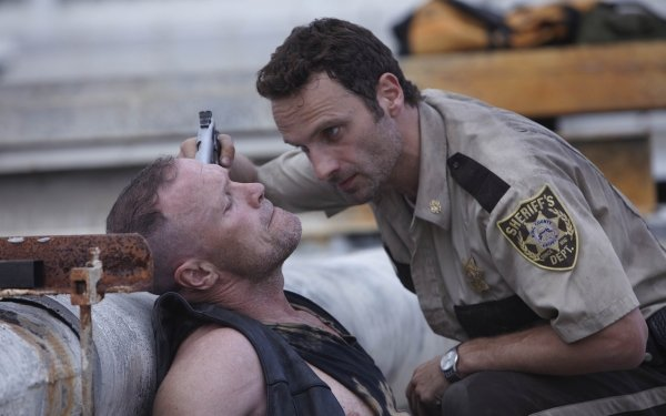 TV Show The Walking Dead Andrew Lincoln Rick Grimes Michael Rooker Merle Dixon HD Wallpaper | Background Image
