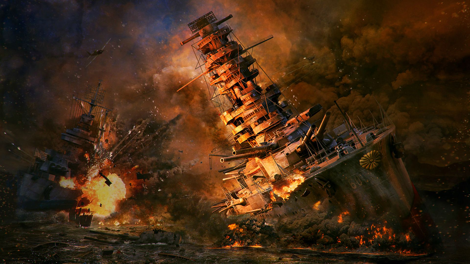 1920x1080 Hd Wallpaper Background Image: World Of Warships Full HD Wallpaper And Background Image