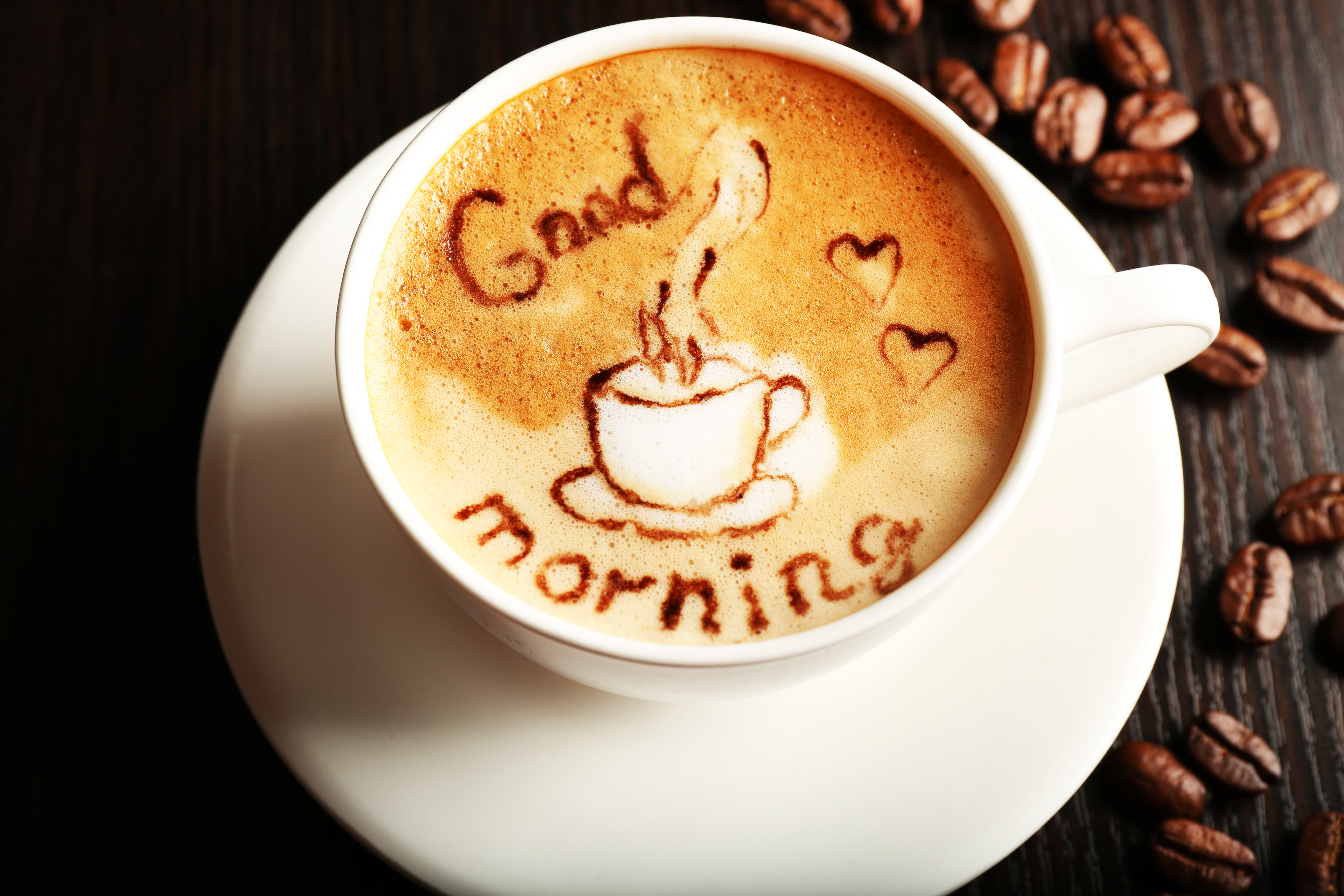 Your Good Morning Coffee 5k Retina Ultra HD Wallpaper and ...