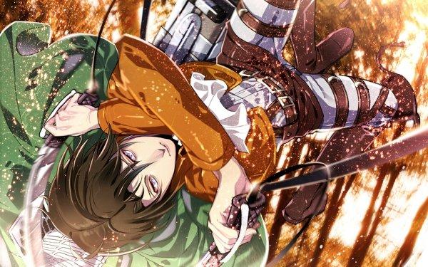 Anime Attack On Titan Levi Ackerman HD Wallpaper | Hintergrund