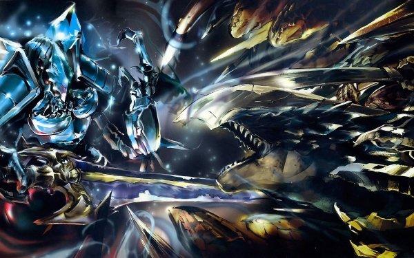 Anime Overlord Cocytus Lizardman HD Wallpaper | Background Image