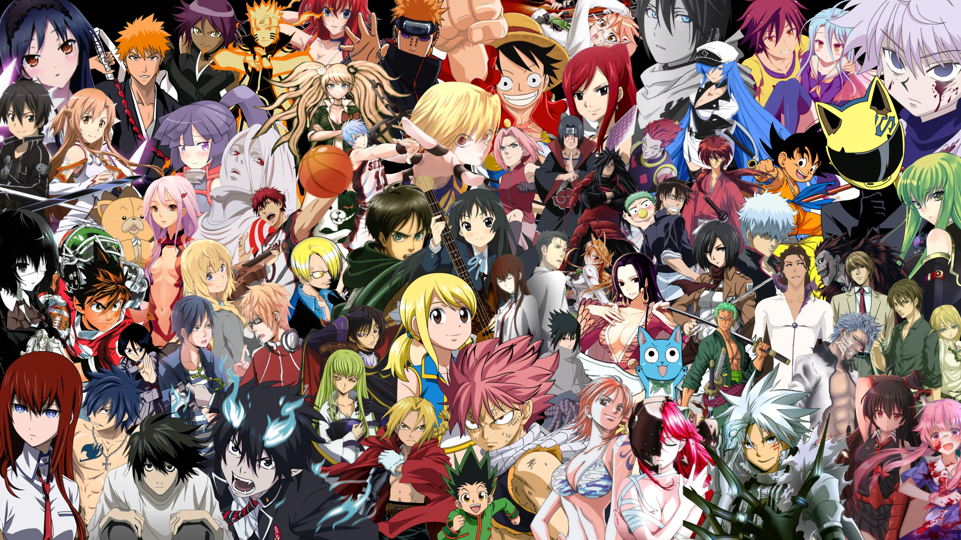 Anime Mix Wallpaper 8k Ultra HD And