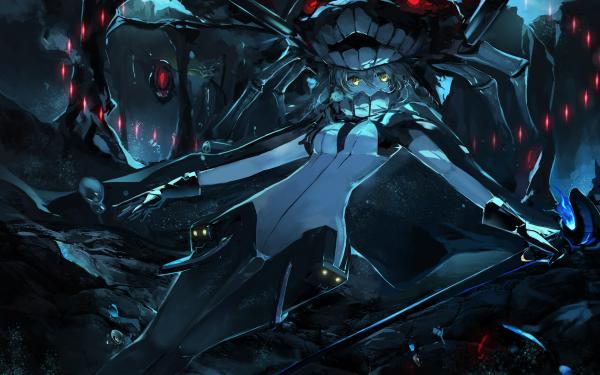 Anime Kantai Collection Dark Wo-Class HD Wallpaper | Background Image