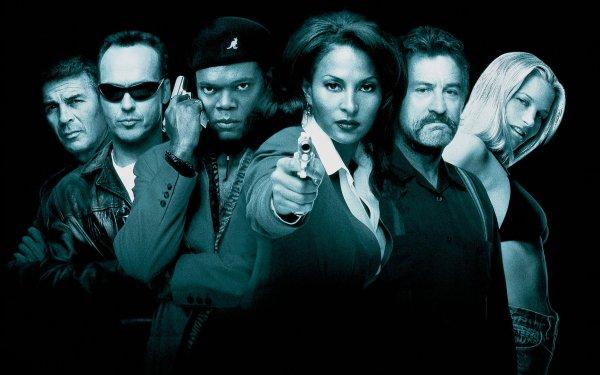 Movie Jackie Brown Samuel L. Jackson Pam Grier Robert De Niro HD Wallpaper | Background Image