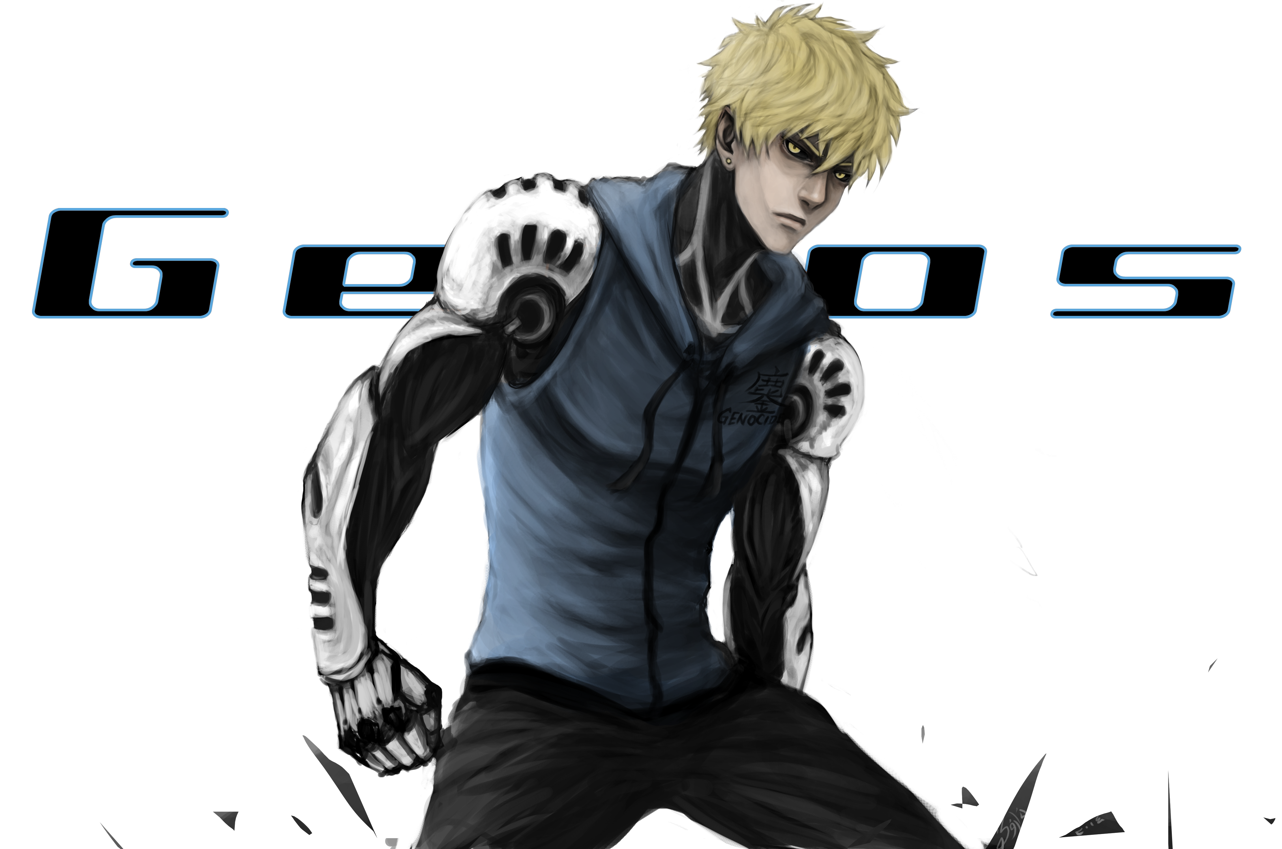 genos 4k ultra hd wallpaper and background 4444x2943