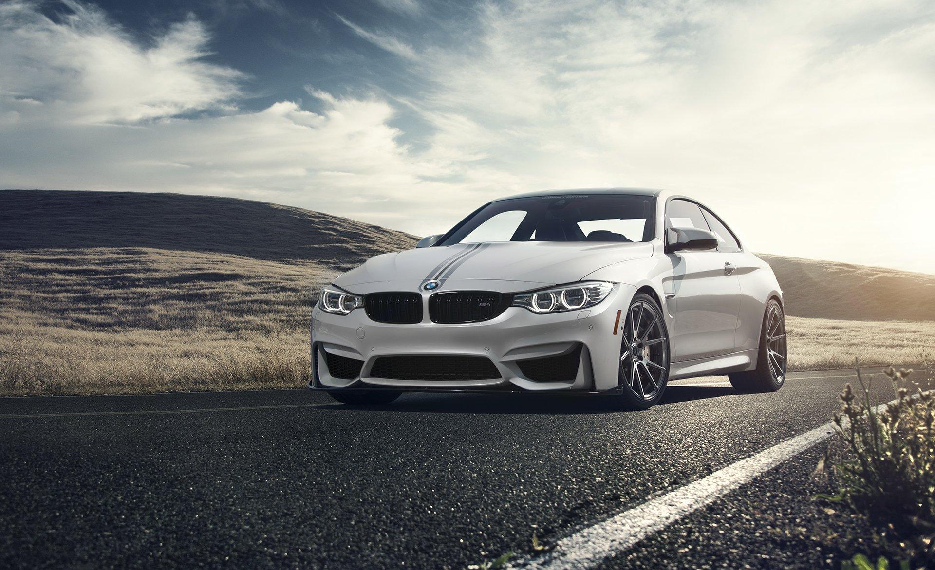 Vehicles - BMW M4  BMW White Car Car Vehicle Wallpaper