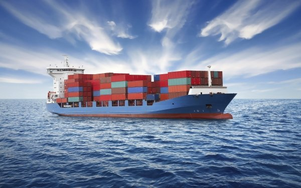 Vehicles Container Ship Container Ship HD Wallpaper | Background Image