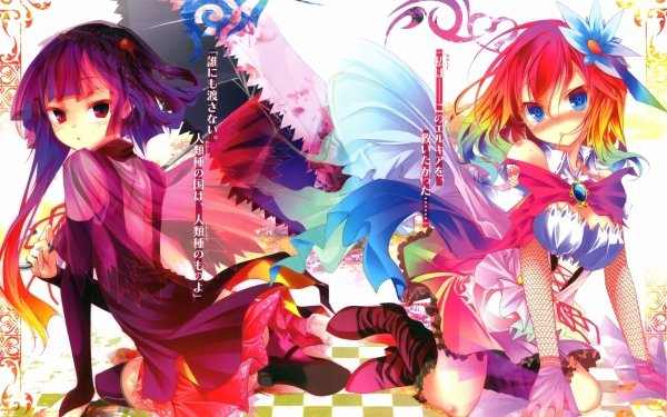 Anime No Game No Life Clammy Zell Stephanie Dola HD Wallpaper | Background Image