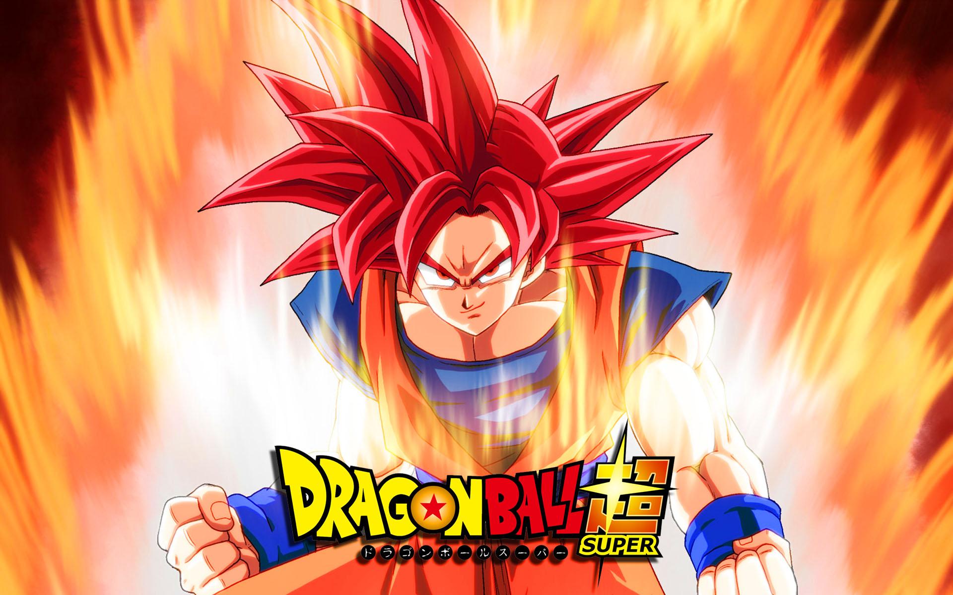Goku Ssj Dios Para Fondo De Pantalla: Goku SSJ God Full HD Fondo De Pantalla And Fondo De