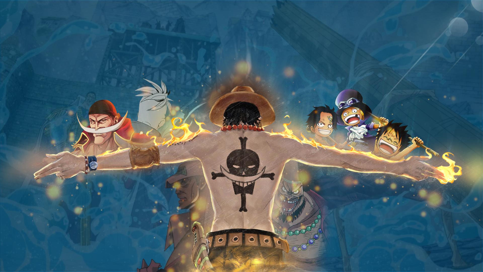 One Piece - Ace's Memories Fondo de pantalla HD | Fondo de Escritorio | 1920x1080 | ID:659064 ...