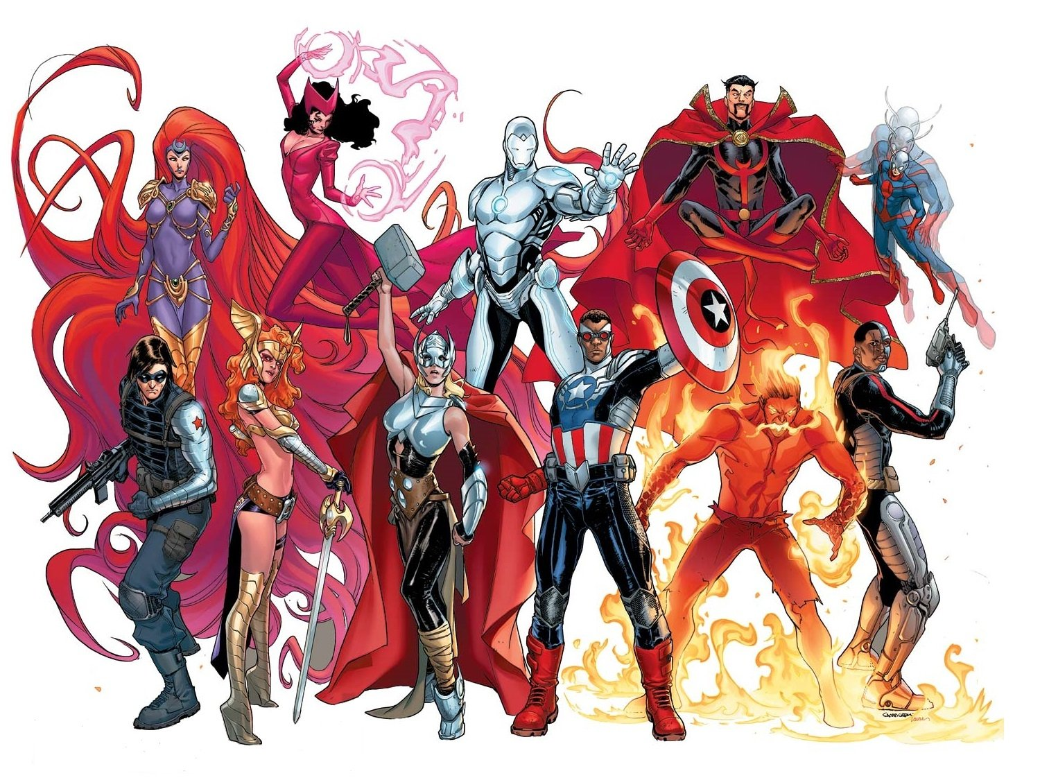 18 Angela Marvel Comics HD Wallpapers