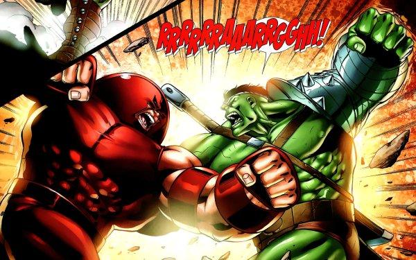Comics World War Hulk Hulk Juggernaut HD Wallpaper | Background Image