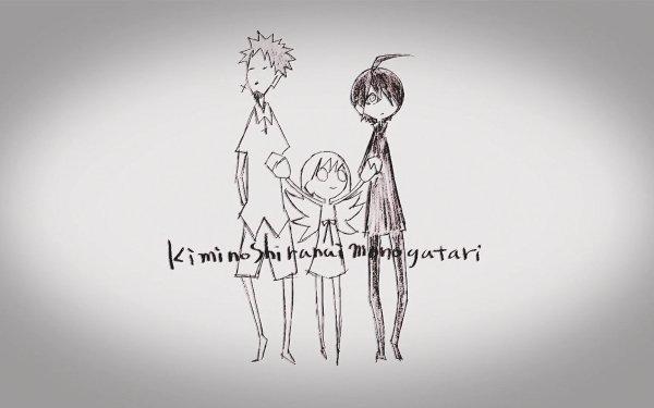 Anime Monogatari (Series) Koyomi Araragi Shinobu Oshino Meme Oshino HD Wallpaper   Background Image
