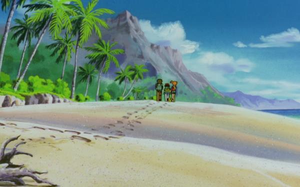 Anime Pokémon The Movie: Mewtwo Strikes Back Pokémon Brock Ash Ketchum Misty Pikachu Fondo de pantalla HD | Fondo de Escritorio