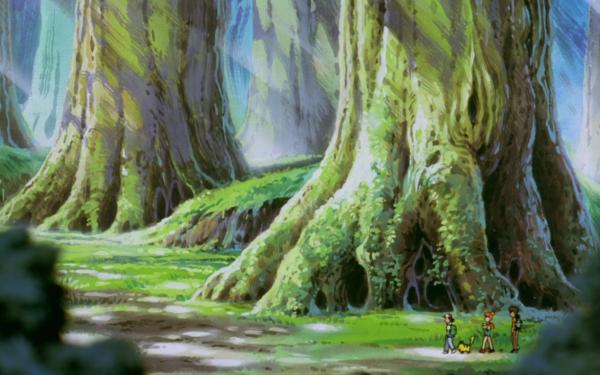 Anime Pokémon The Movie: Mewtwo Strikes Back Pokémon Ash Ketchum Pikachu Misty Brock Fondo de pantalla HD | Fondo de Escritorio