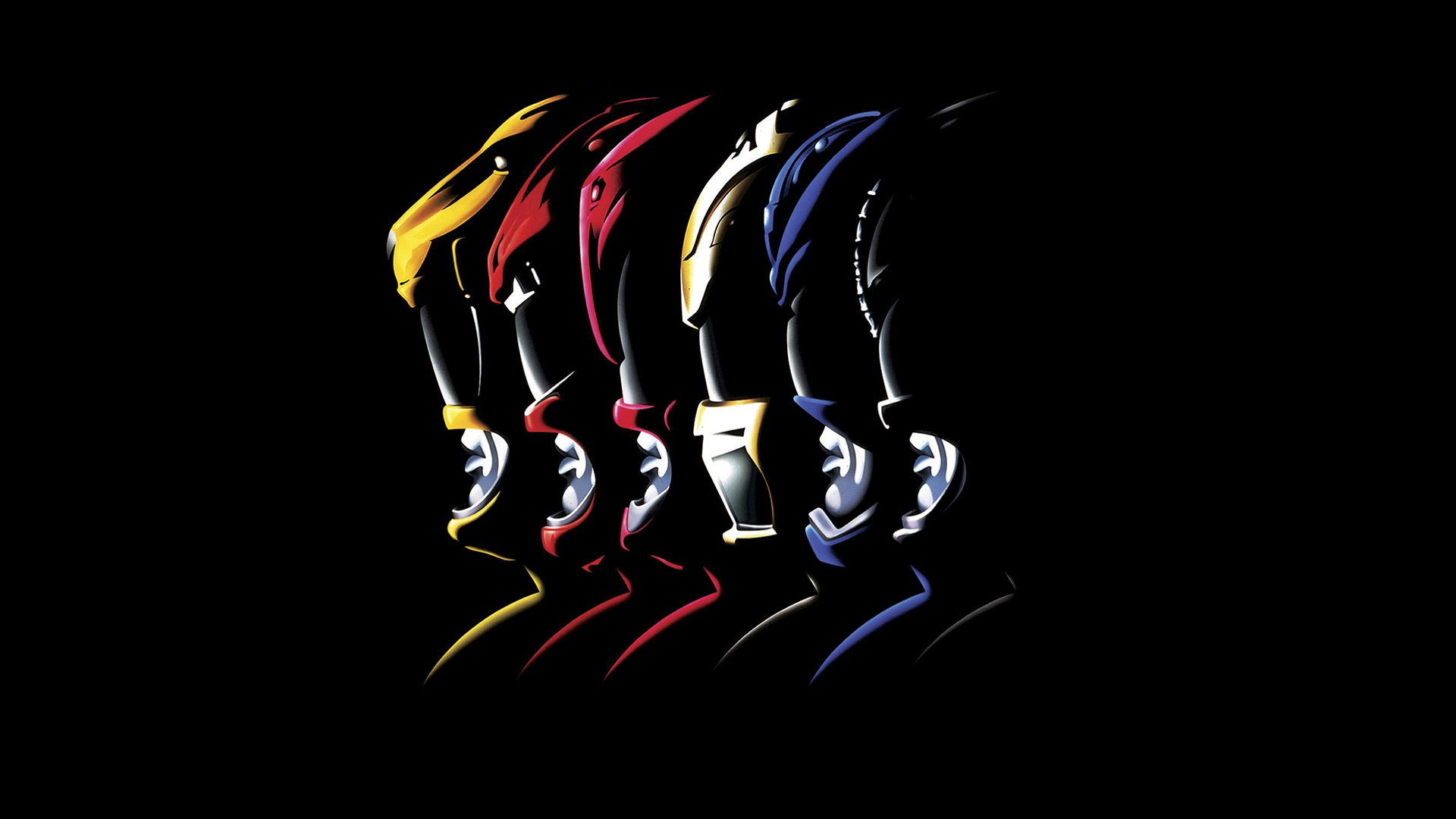 Mighty morphin power rangers wallpaper logo