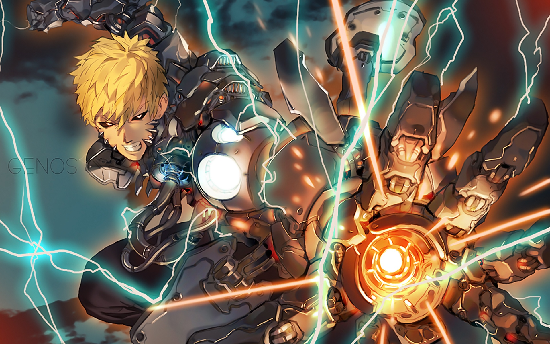 Genos Full HD Wallpaper And Background Image