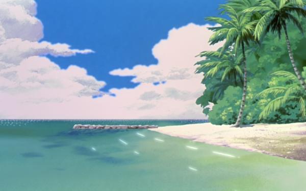 Anime Pokémon: La Película 2000 Pokémon Playa Sea Cielo Fondo de pantalla HD | Fondo de Escritorio
