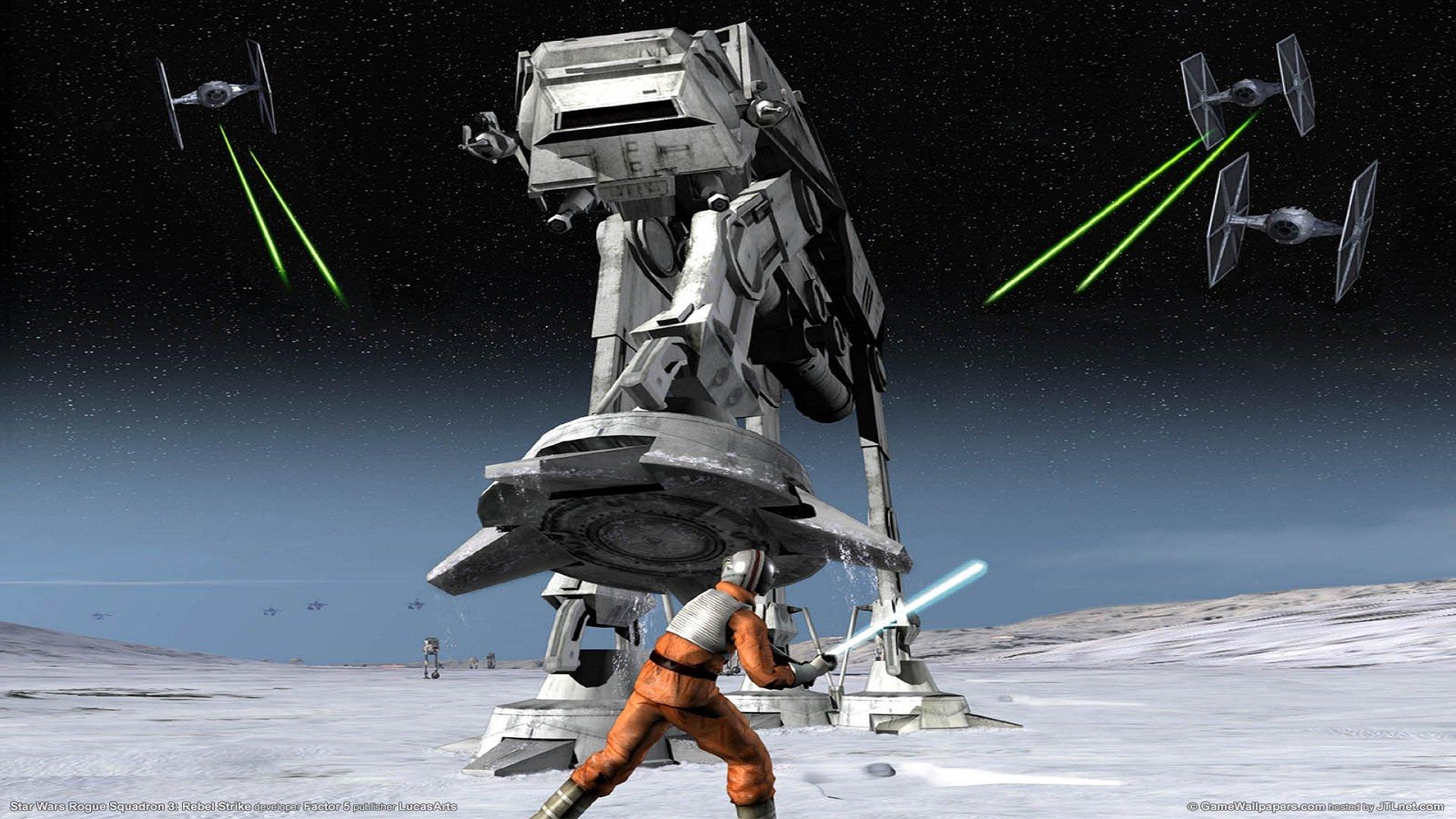 1 Star Wars Rogue Squadron III: Rebel Strike Papéis de