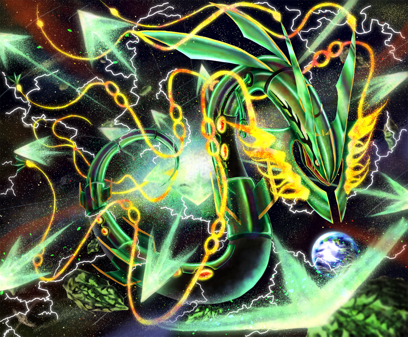 12 Mega Evolution Pokemon HD Wallpapers