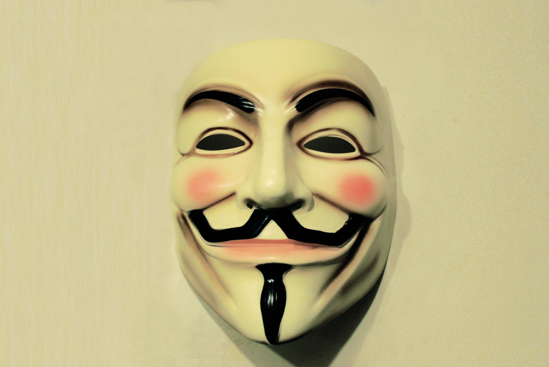 Technology - Anonymous  Mask Wallpaper