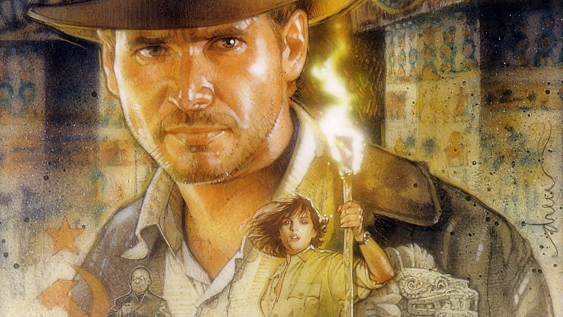 Indiana Jones And The Infernal Machine Full HD Wallpaper