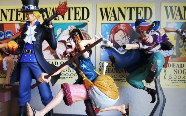 Anime One Piece Monkey D. Luffy Sabo Buggy HD Wallpaper   Background Image