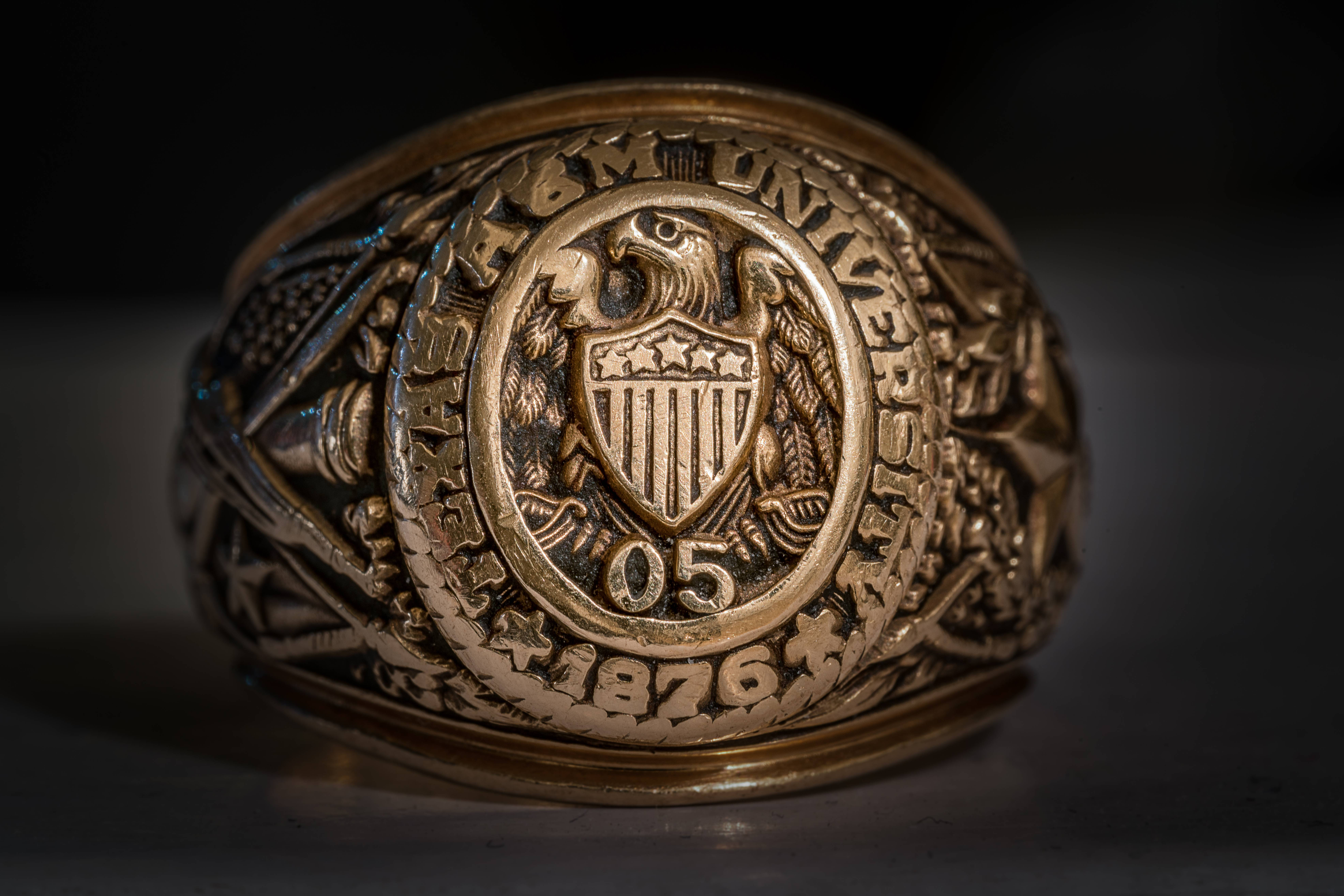 College Ring Like Texas A M