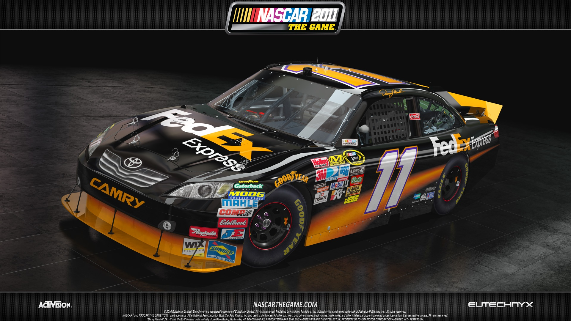 Nascar Iphone Wallpaper: NASCAR The Game: 2011 Full HD Wallpaper And Background