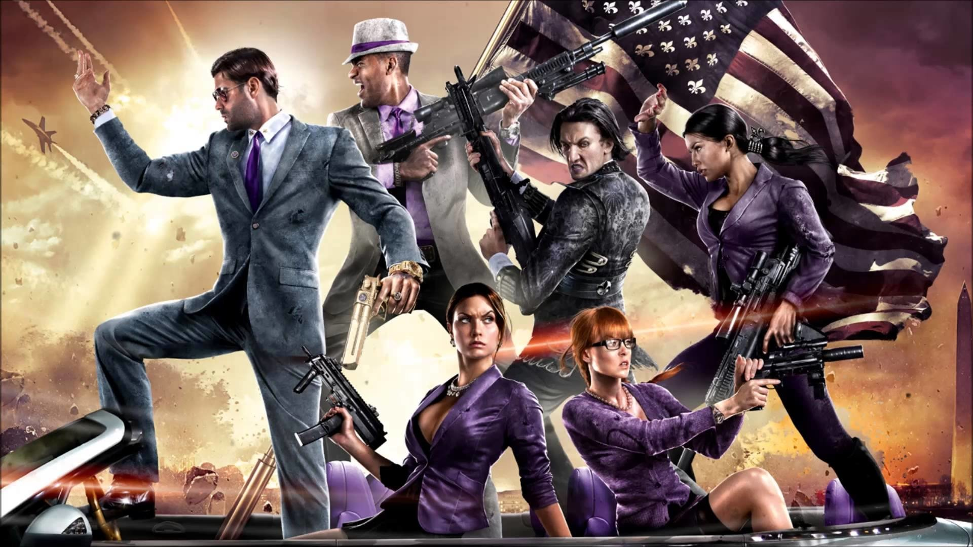 23 Saints Row Iv Hd Wallpapers Background Images