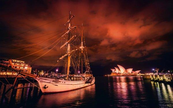 Véhicules Voilier Opéra de Sydney Fond d'écran HD | Image