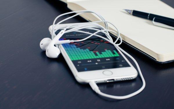 Technology iPhone Headphones Apple Inc. HD Wallpaper | Background Image