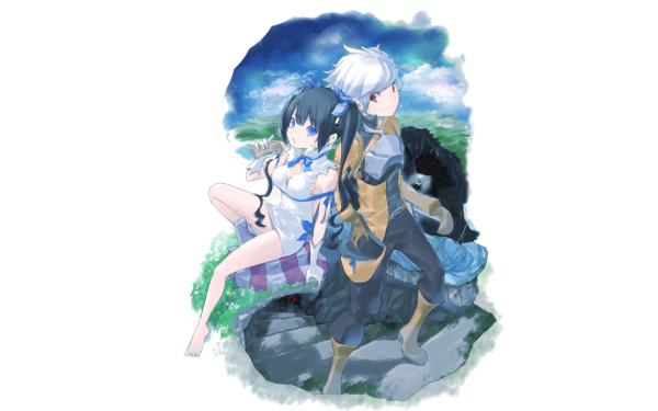 Anime Is It Wrong to Try to Pick Up Girls in a Dungeon? DanMachi Hestia Bell Cranel HD Wallpaper | Background Image