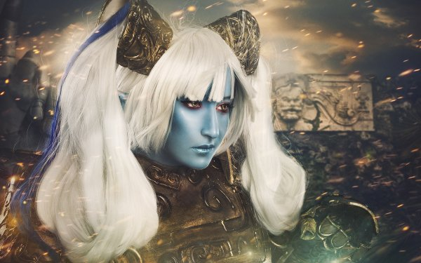 Women Cosplay League Of Legends Poppy HD Wallpaper | Background Image