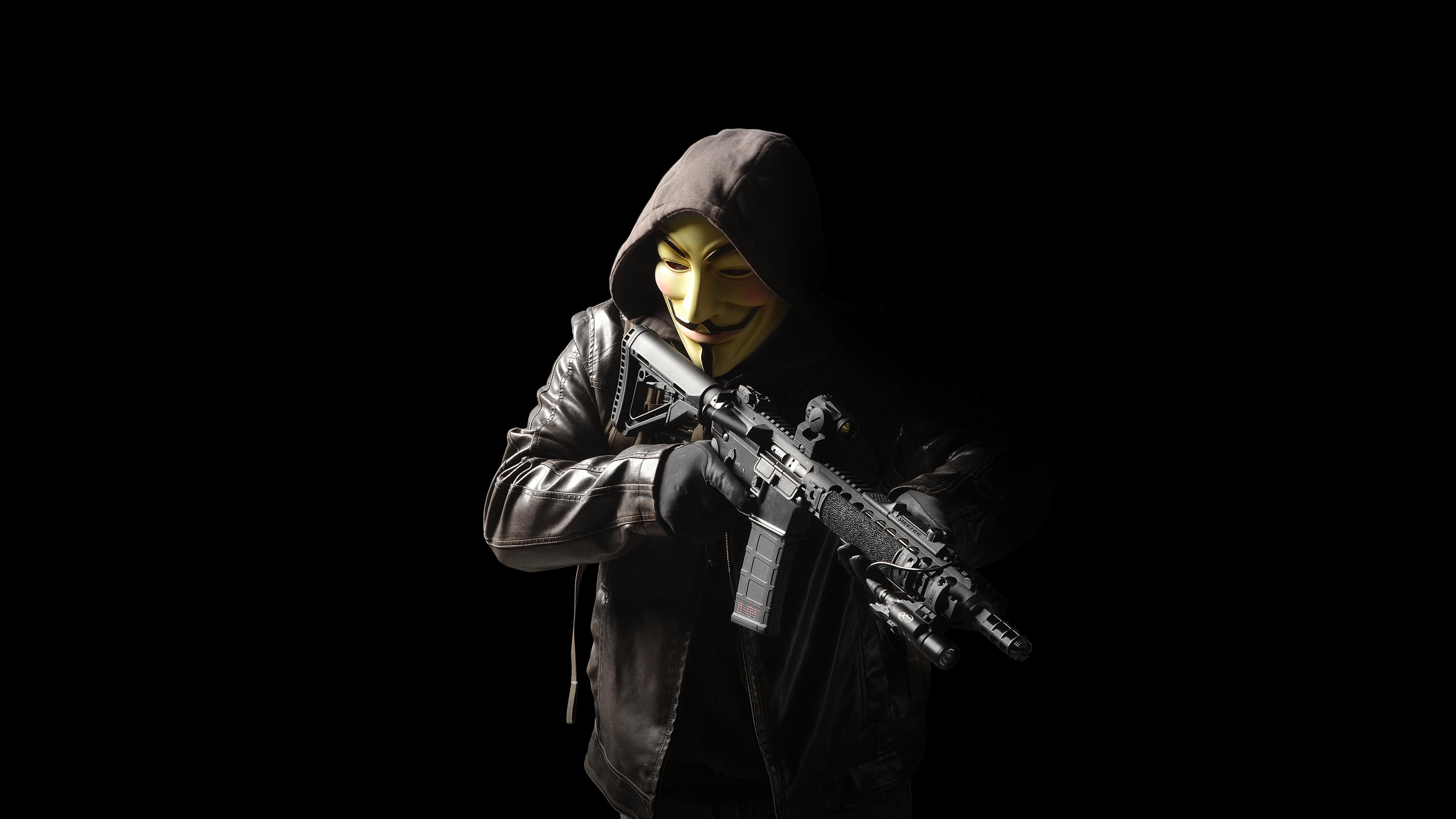Anonymous 4k Ultra Fondo De Pantalla HD