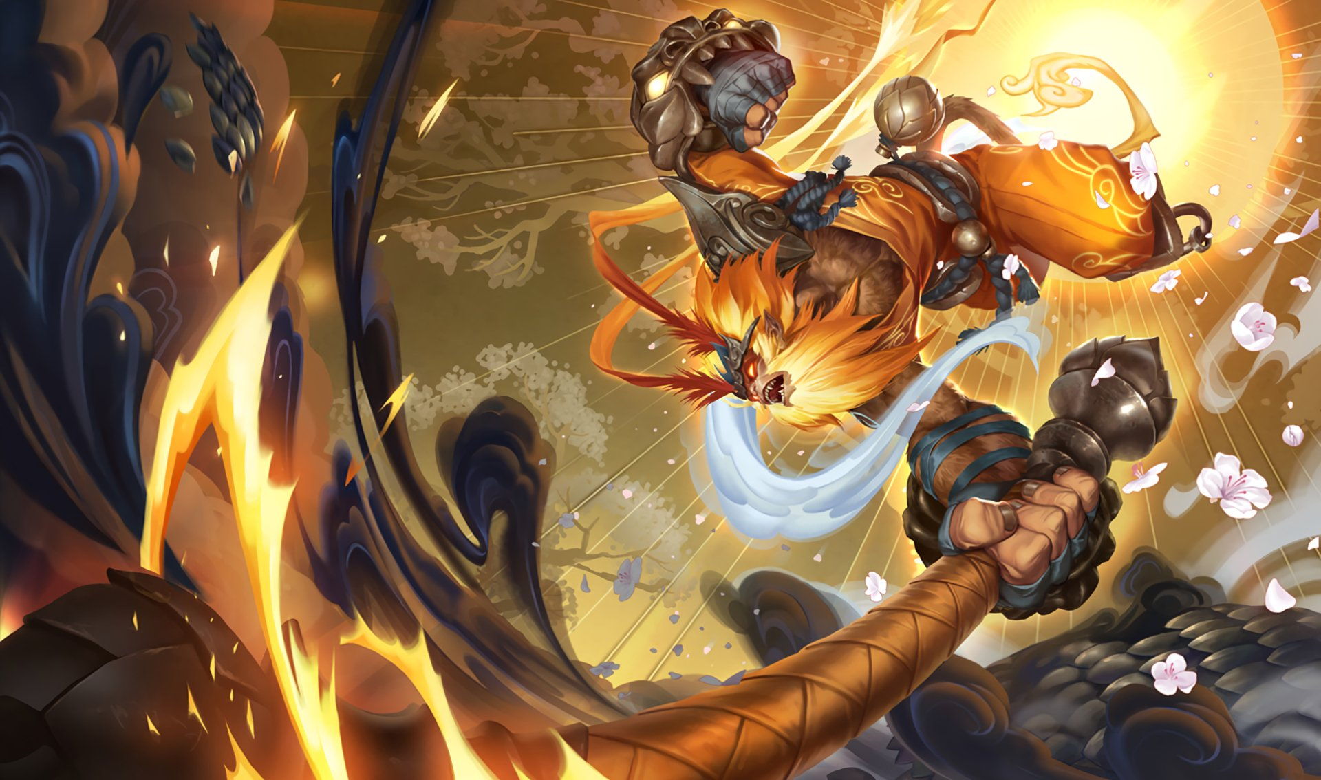 Video Game - League Of Legends  Wukong (League Of Legends) Wallpaper