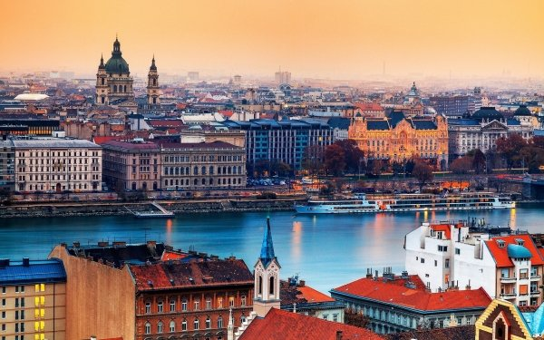 Man Made Budapest Cities Hungary City Architecture Building Ship HD Wallpaper | Background Image