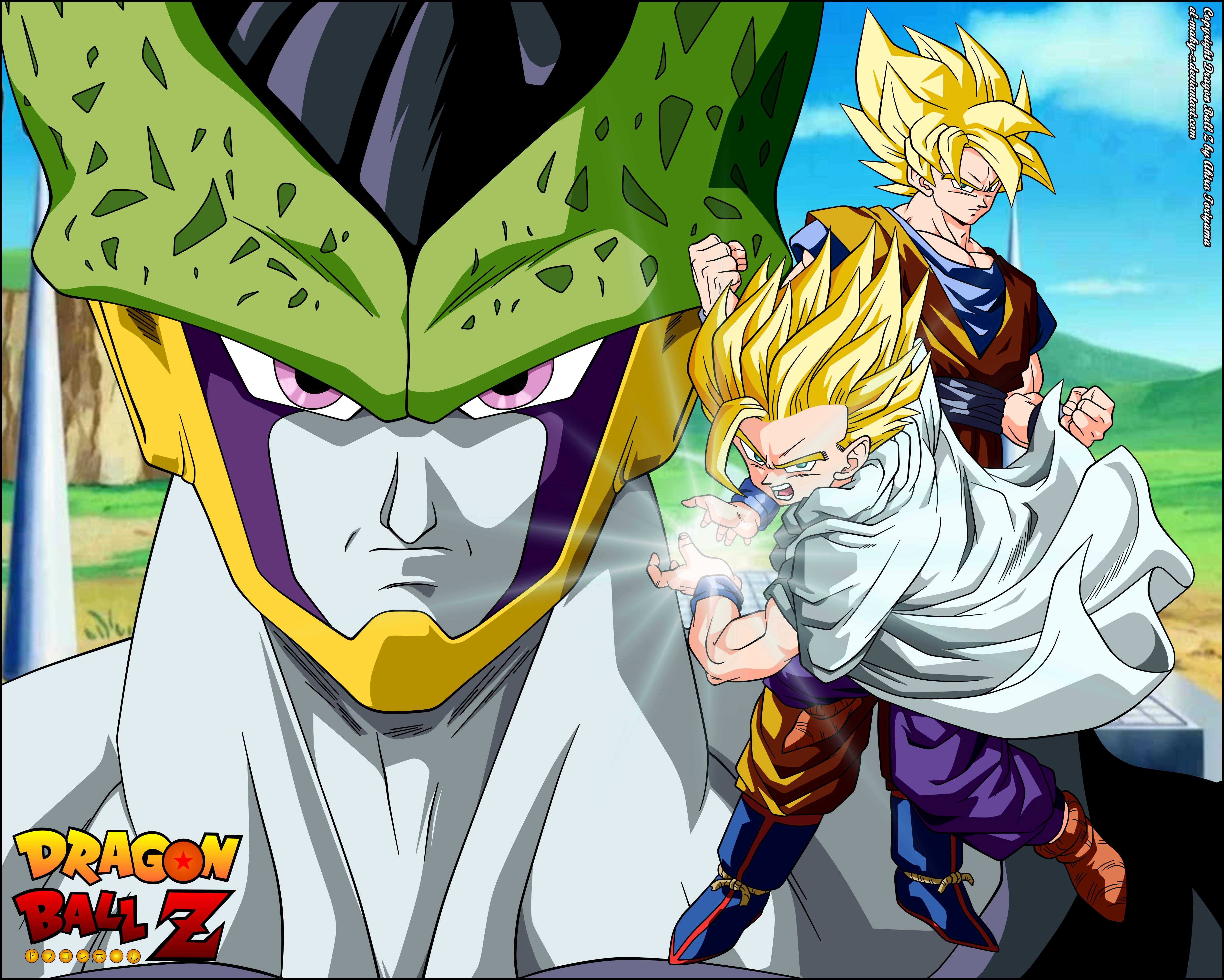 Dragon Ball Z Saga Cell 4k Ultra Fondo De Pantalla Hd