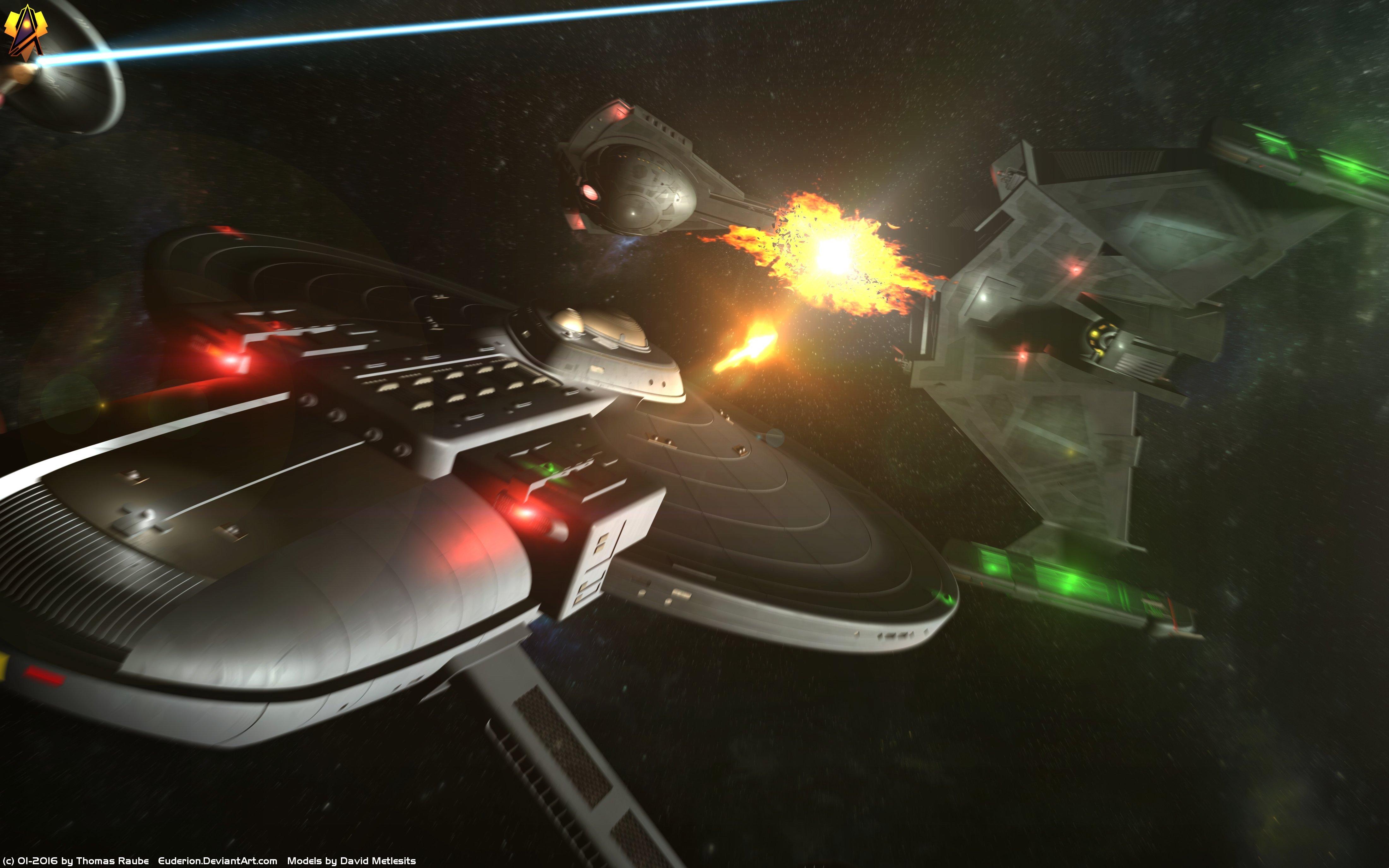Like A Klingon Maneuver 4k Ultra Hd Wallpaper Background Image
