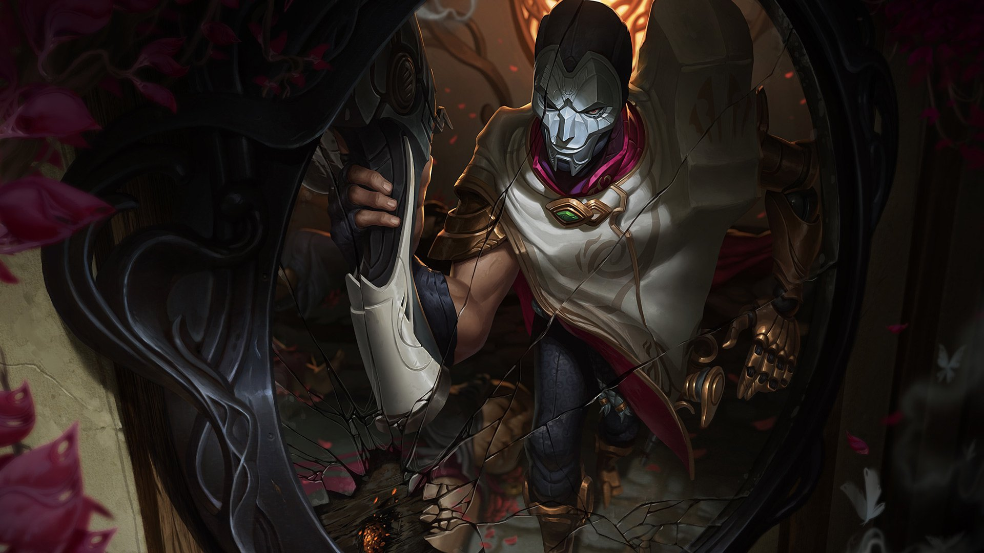 33 Jhin League Of Legends Hd Wallpapers Background Images