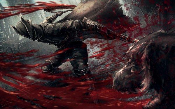 Videojuego Bloodborne Oscuro Sangre Fondo de pantalla HD | Fondo de Escritorio