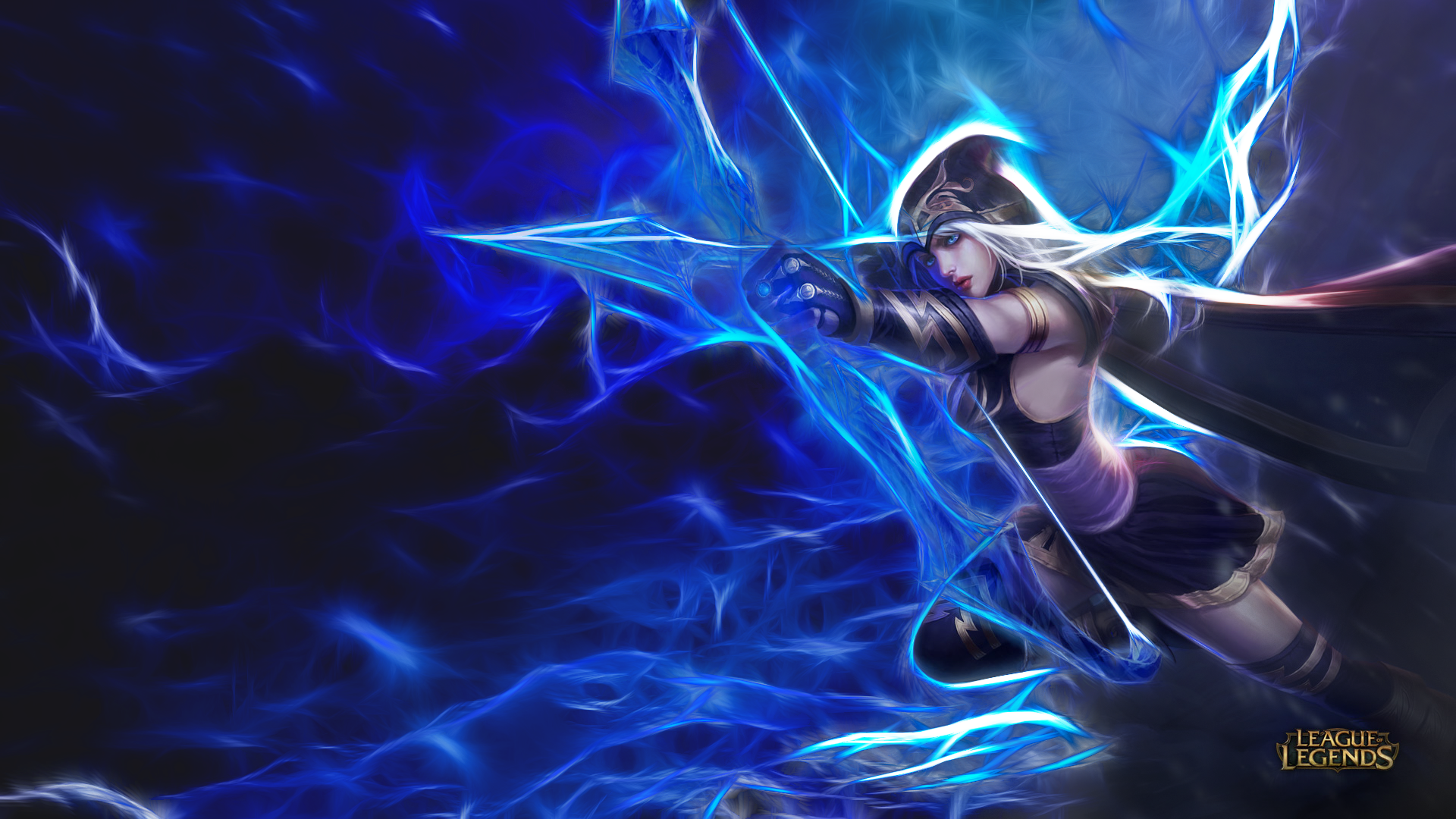 95 Ashe League Of Legends Hd Wallpapers Background Images