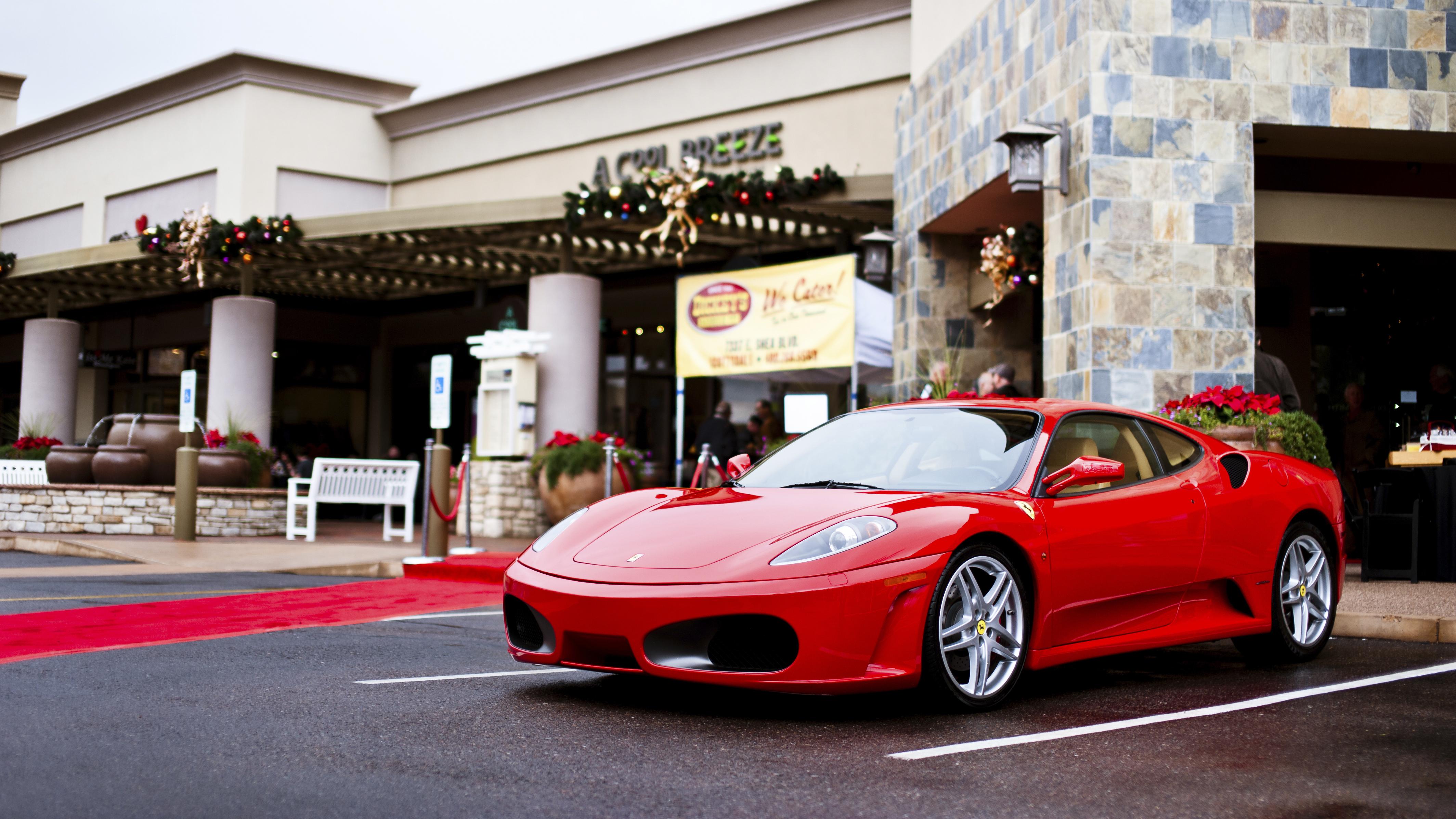 Ferrari F430 4k Ultra Fondo De Pantalla Hd Fondo De