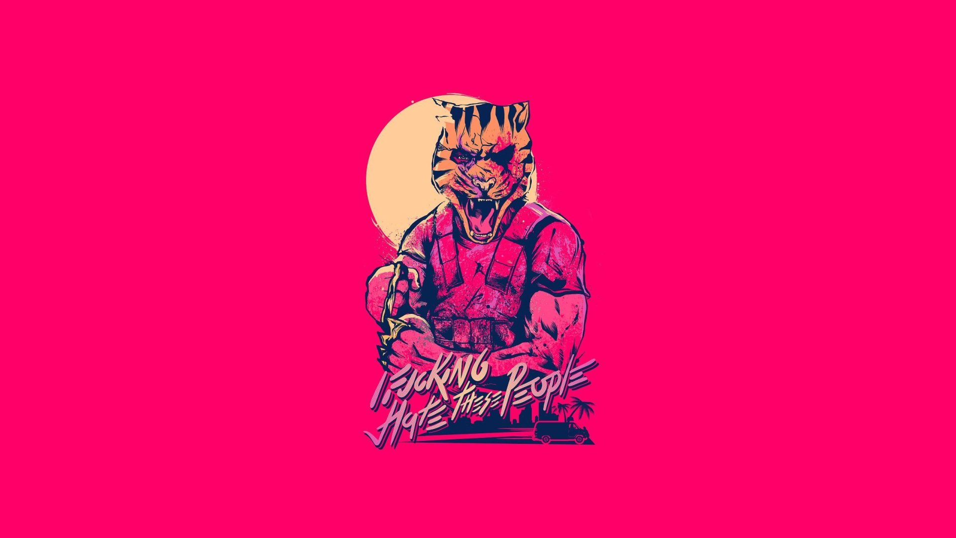 Hotline Miami 2: Wrong Number Full HD Wallpaper And