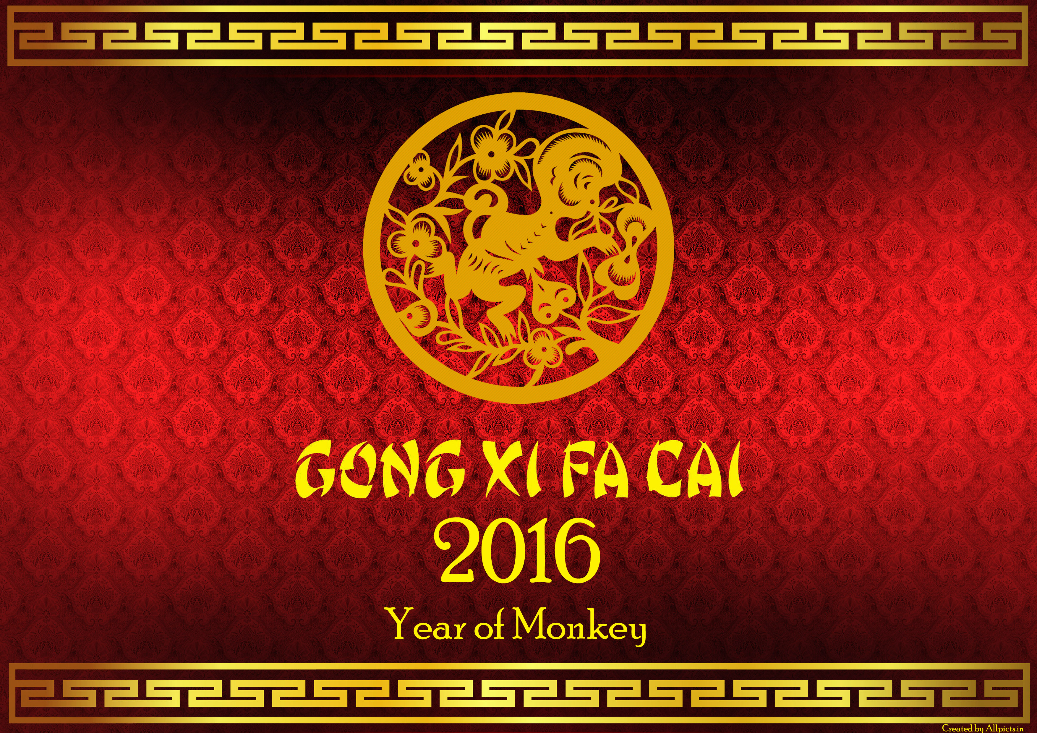 Chinese New Year Hd Wallpaper Background Image 3508x2480 Id