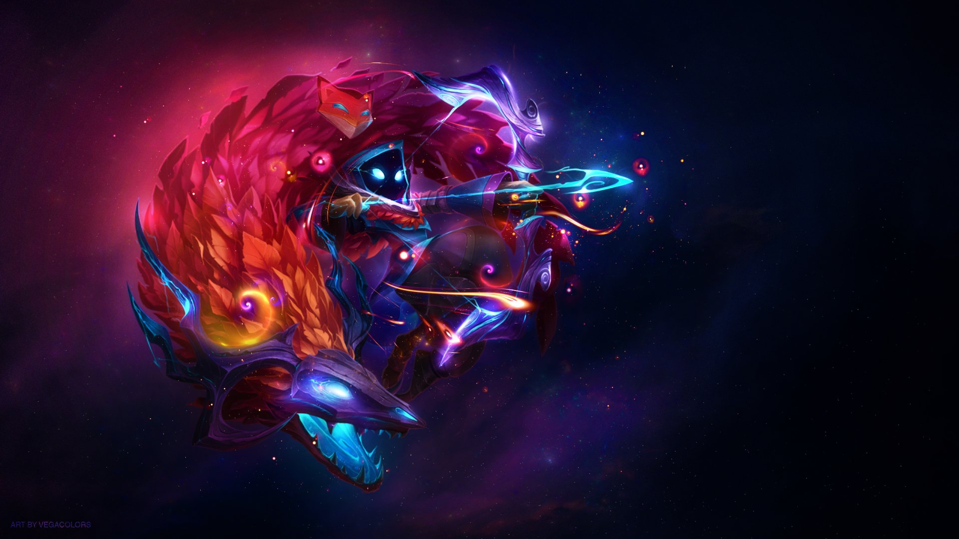 Video Game - League Of Legends  Kindred (League of Legends) Wallpaper