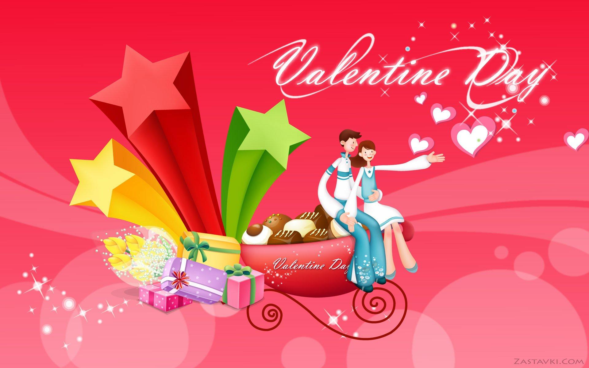 节日 - 情人节  壁纸